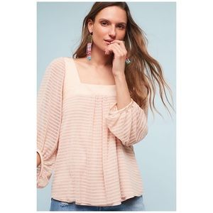 Anthropologie • Meadow Rue Allyson textured top